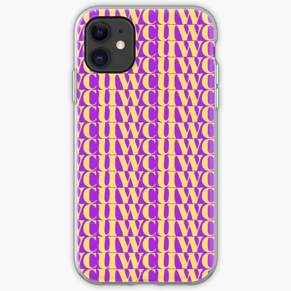 WCU West Chester University Yellow iPhone Soft Case
