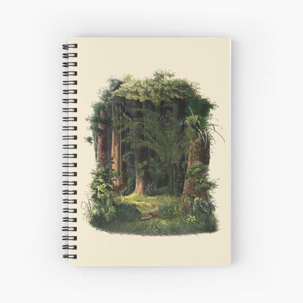 The Jungle Garden Spiral Notebook