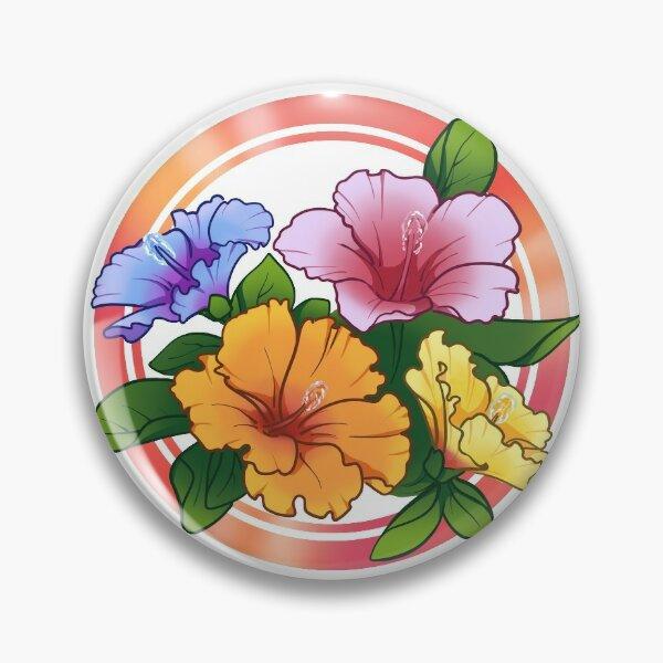 Hawaiian hibiscus flowers Pin