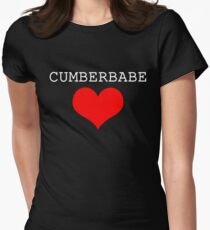Cumberbabe Light Heart Women's Fitted T-Shirt