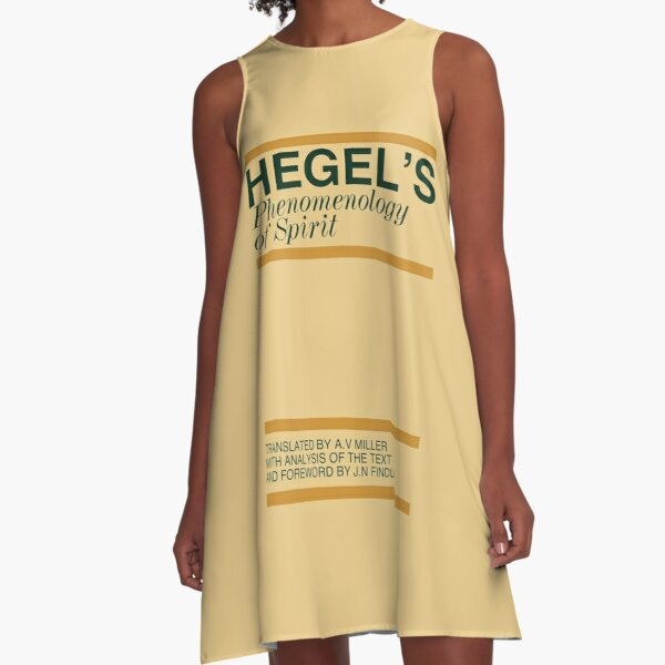 Hegel's Phenomenology of Spirit A-Line Dress