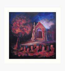 'Autumn Gold. Bolton Abbey' Art Print