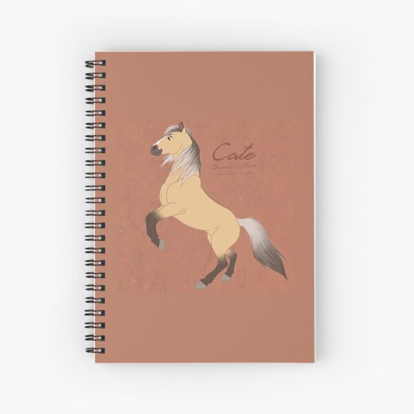 Brumby Mare Spiral Notebook
