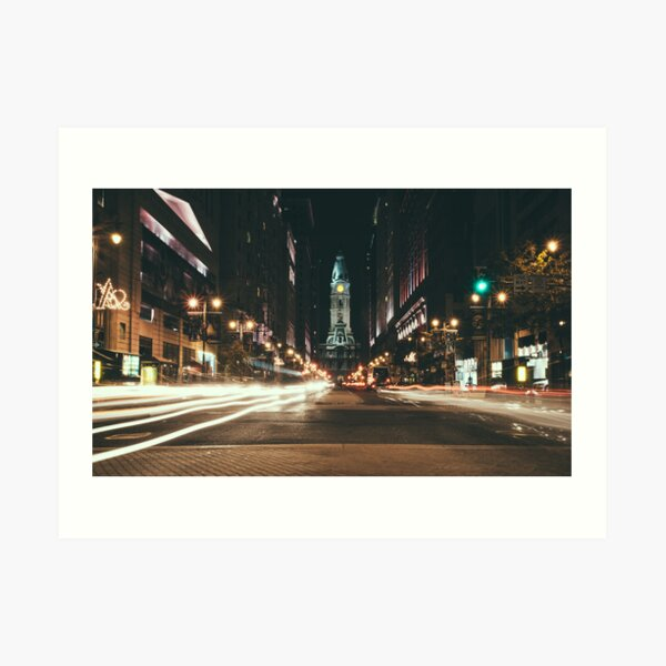 South Broad Street, Philadelphia Art Print