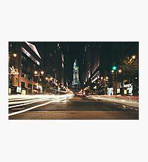 South Broad Street, Philadelphia Photographic Print