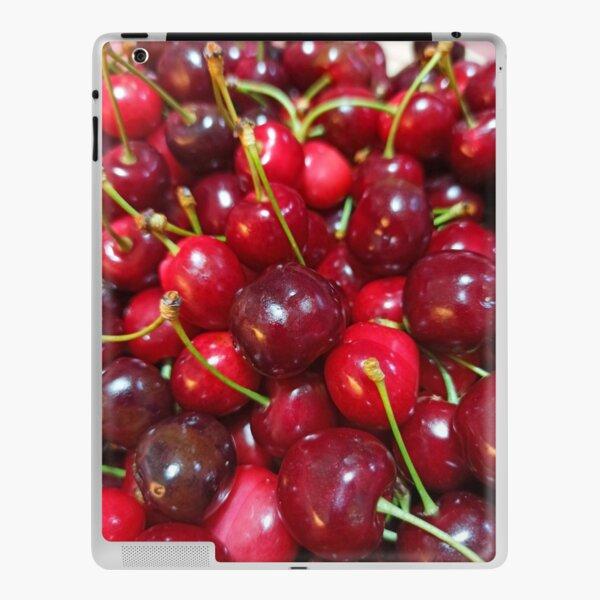 Delicious, fresh ,cretan cherries iPad Skin