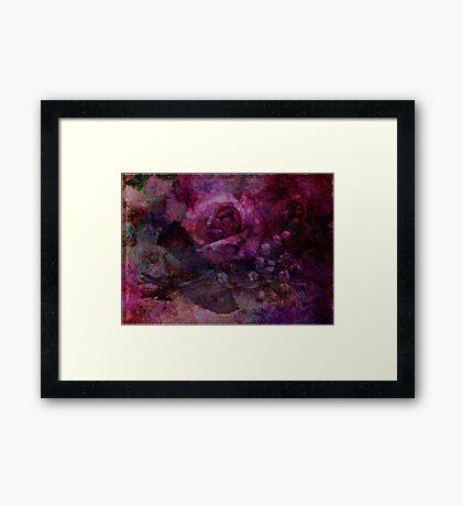 Valley Rose Framed Print