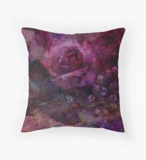 Valley Rose Throw Pillow