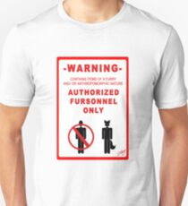 Authorized Fursonnel T-Shirt