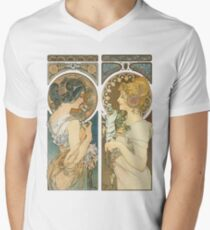 """Primrose and Feather"", by Alphonse Mucha (1899). T-Shirt"