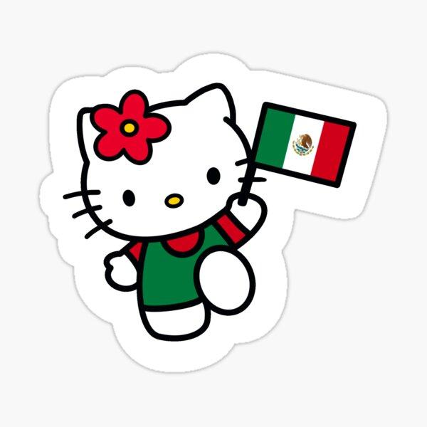 México Kitty Sticker