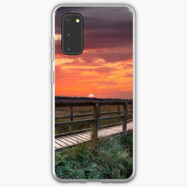 Sunset At Newtown Isle Of Wight Samsung Galaxy Soft Case