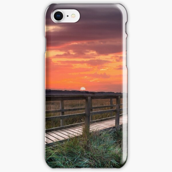 Sunset At Newtown Isle Of Wight iPhone Snap Case