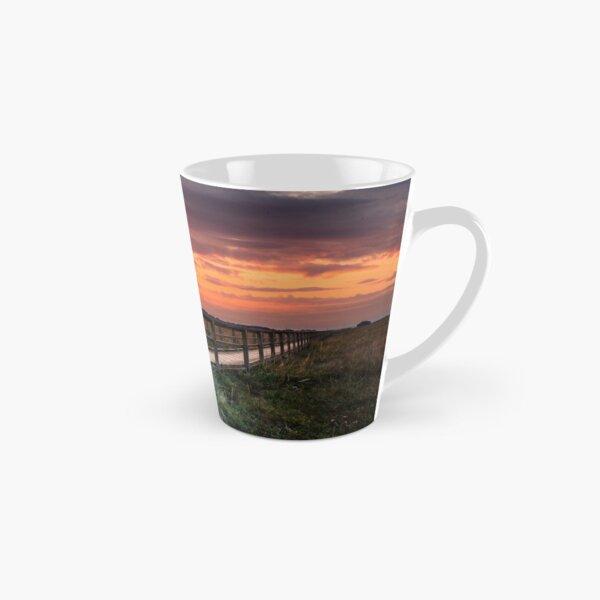Sunset At Newtown Isle Of Wight Tall Mug