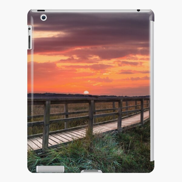 Sunset At Newtown Isle Of Wight iPad Snap Case