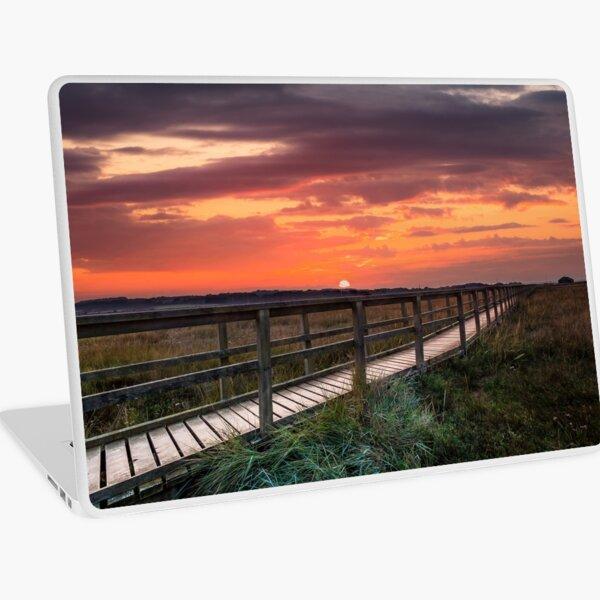 Sunset At Newtown Isle Of Wight Laptop Skin