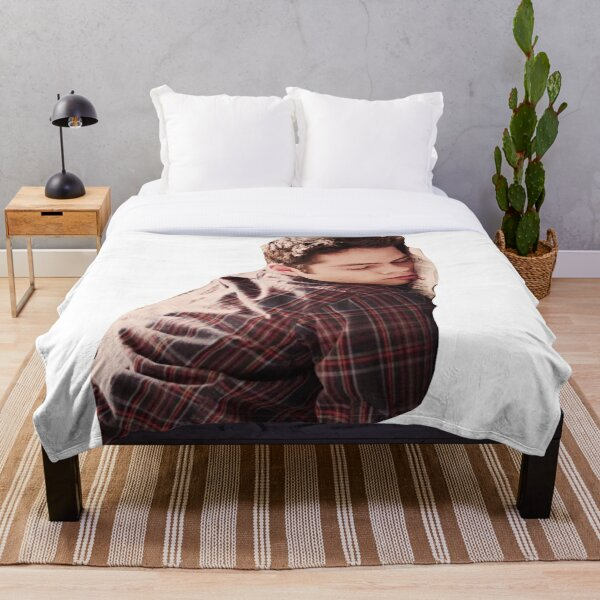 Cute Dylan O'Brien Napping Throw Blanket