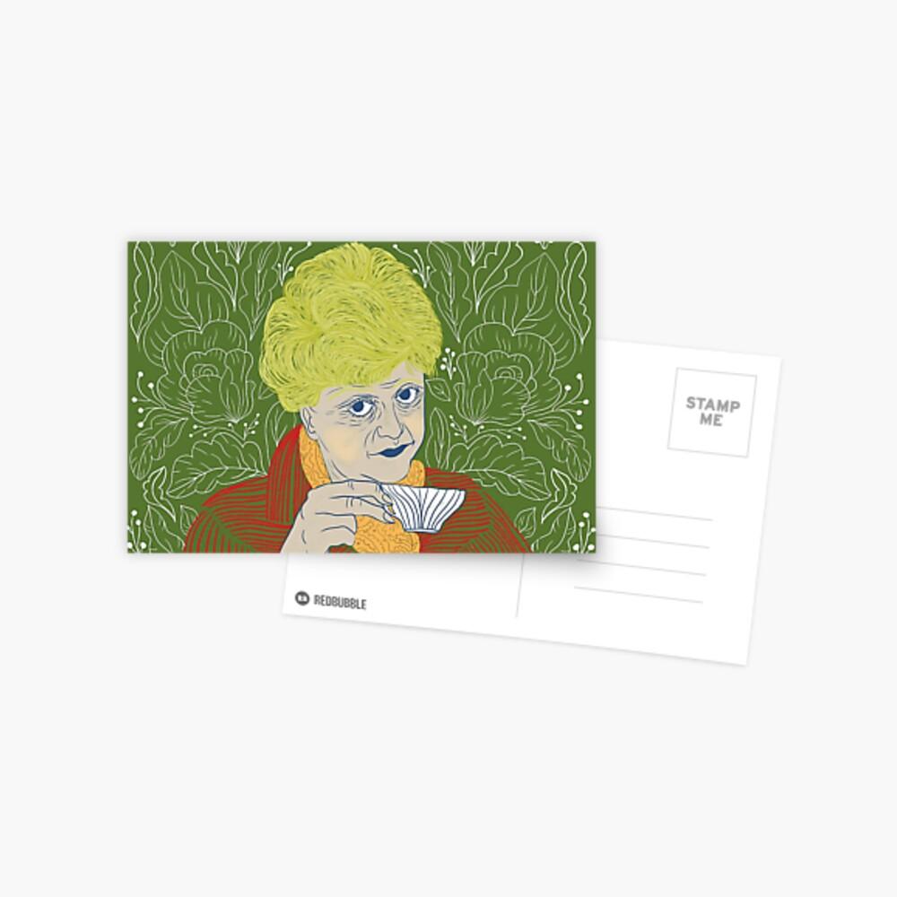 Jessica Fletcher fan art  Postcard