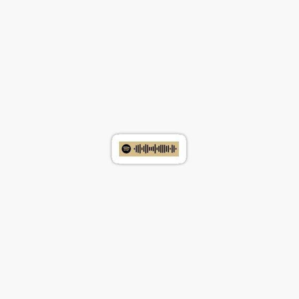 Pixies Where Is My Mind Spotify Scan Sticker Sticker