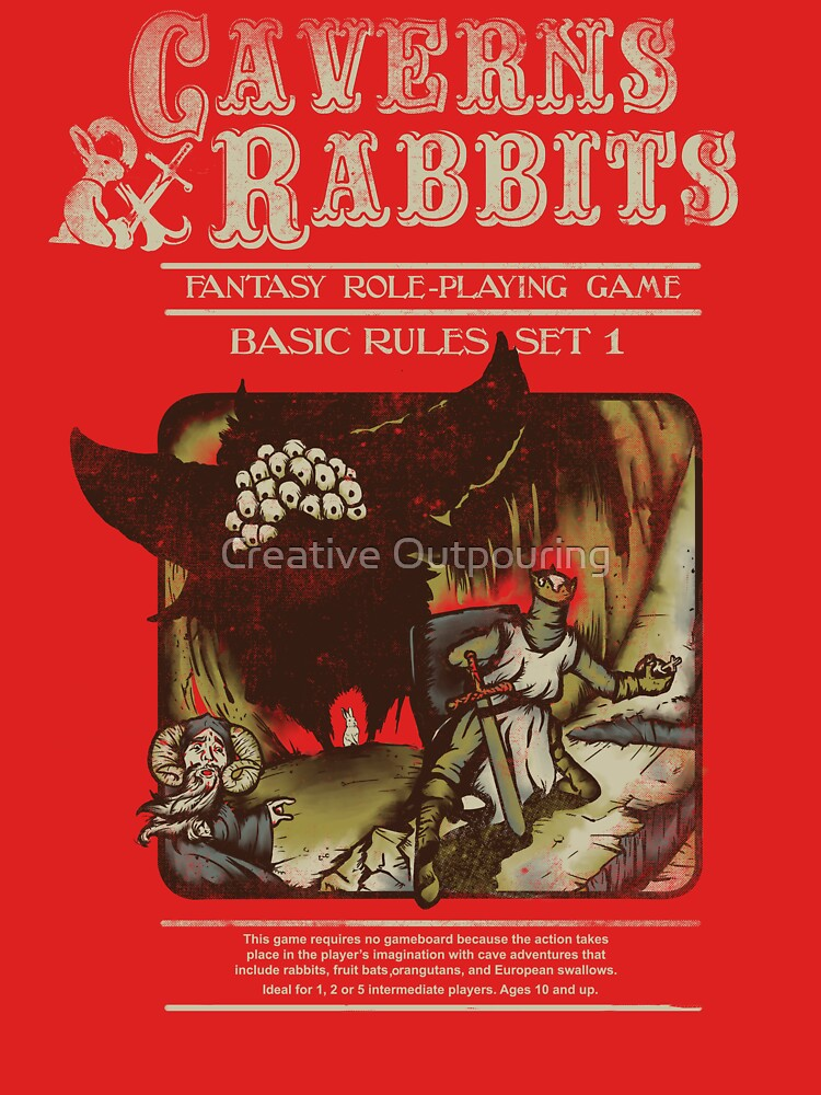 Caverns & Rabbits | Women's T-Shirt