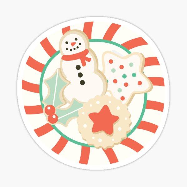 Christmas Baking Sticker