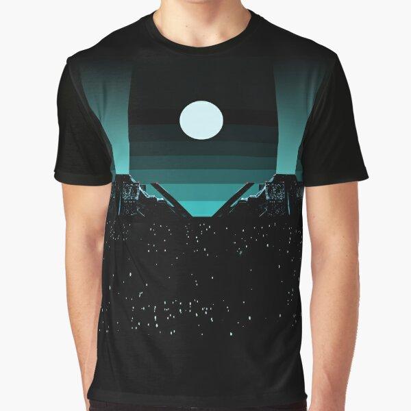 Blade Runner Tyrell Building - Night Graphic T-Shirt