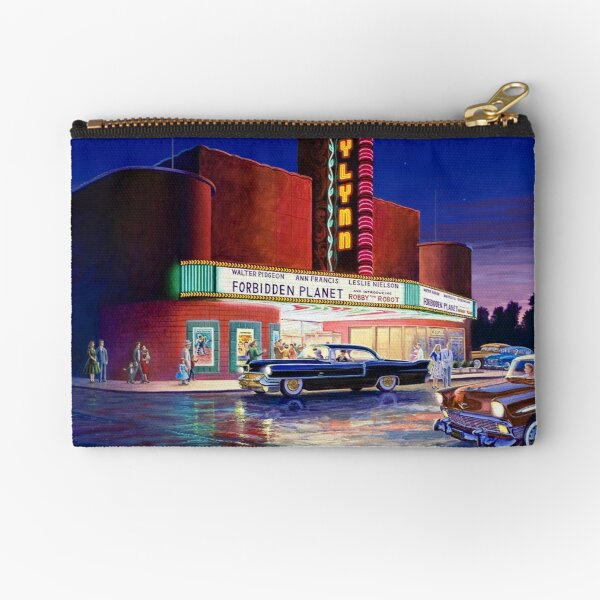Classic Debut (The Gaylynn Theatre) Zipper Pouch