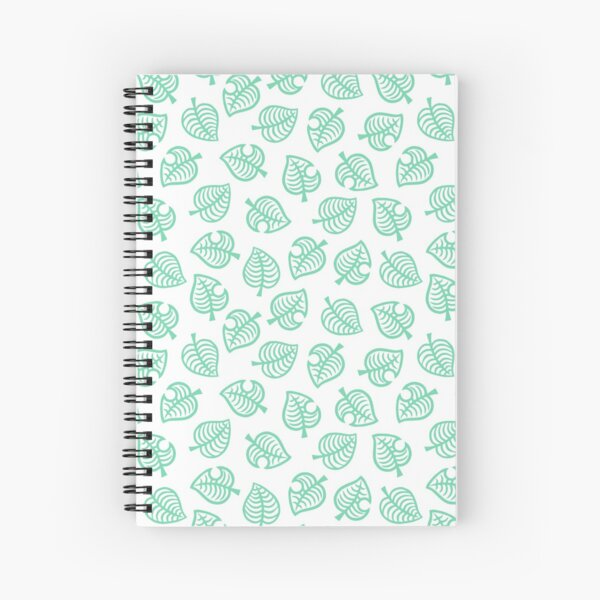 Animal Crossing New Horizons Nook Inc. Pattern Spiral Notebook