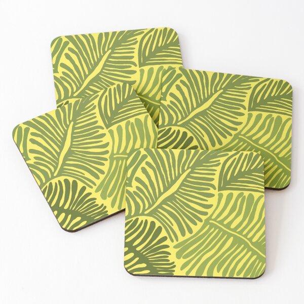 Ferns Coasters (Set of 4)