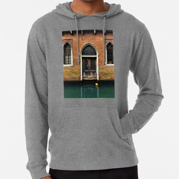 House entrance in Venice with balloon floating on water Lightweight Hoodie