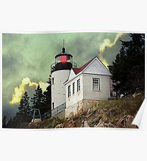 Bass Harbor Head Lighthouse Poster