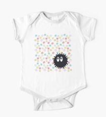 Cute Soot Sprites One Piece - Short Sleeve