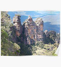 Echo Point Blue Mountains NSW Poster