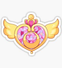 Sailor Moon- Heart Brooch Sticker