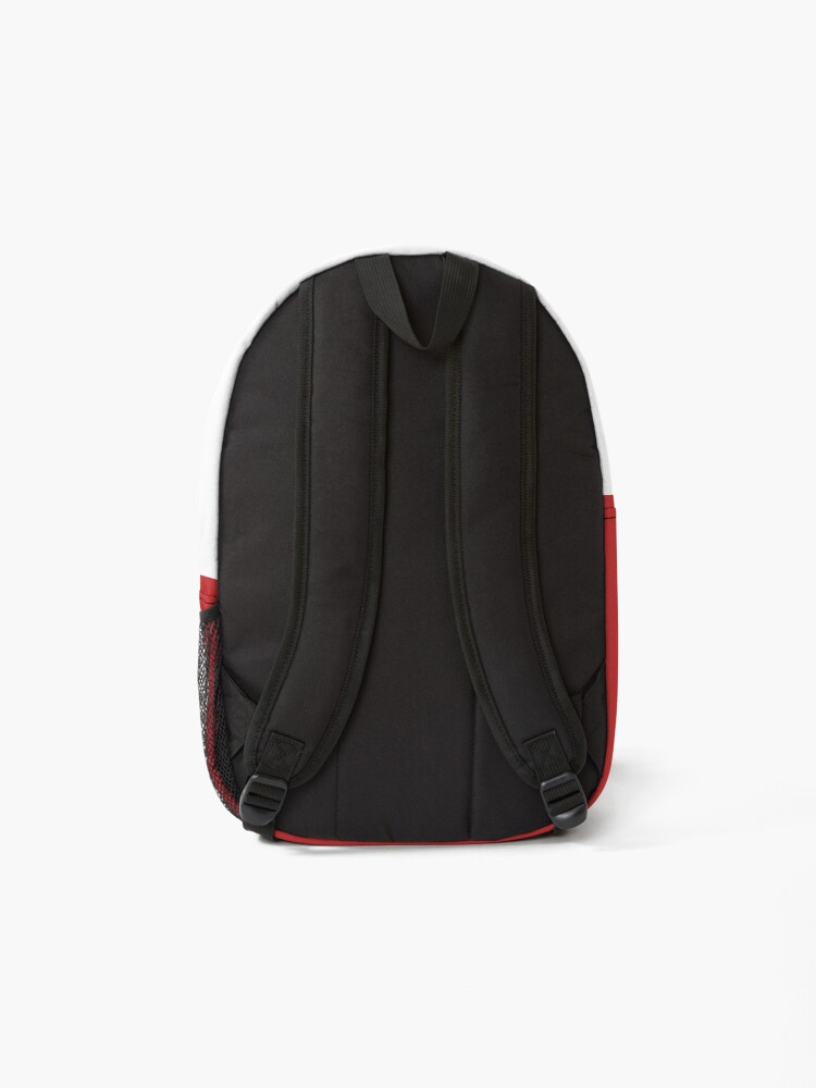 """Alternate view of Alex DePue """"Practice"""" w/ signature design, all products! Backpack"""