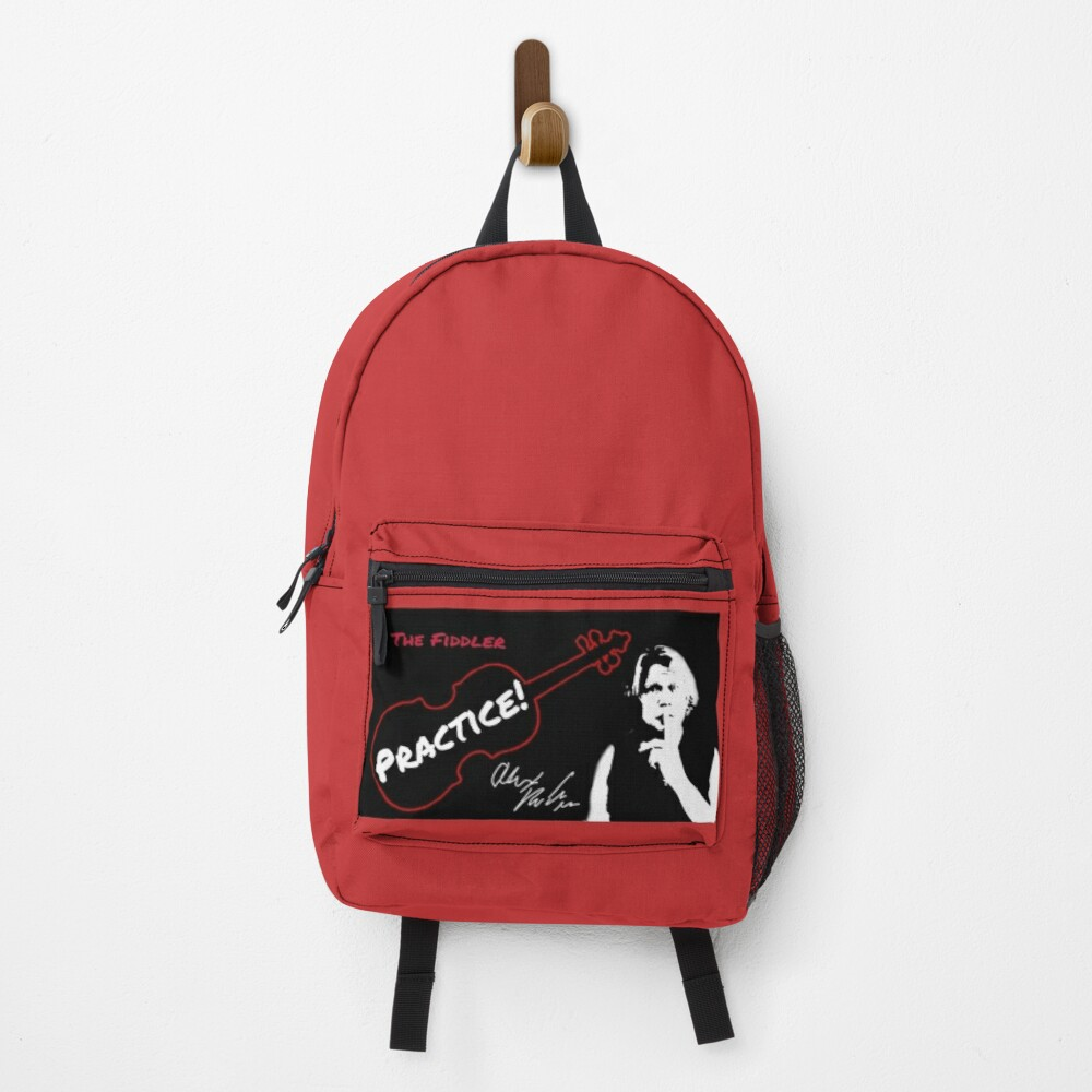 """Alex DePue """"Practice"""" w/ signature design, all products! Backpack"""