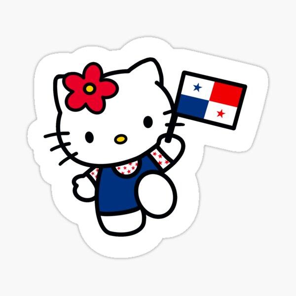 Panama Kitty Sticker