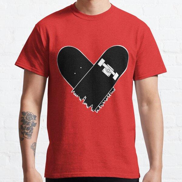 Skateboard Heart Classic T-Shirt