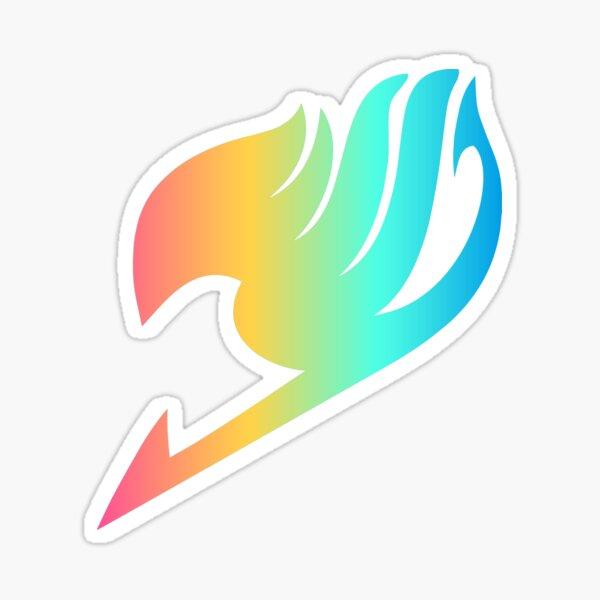 Arco iris de Fairy Tail Pegatina