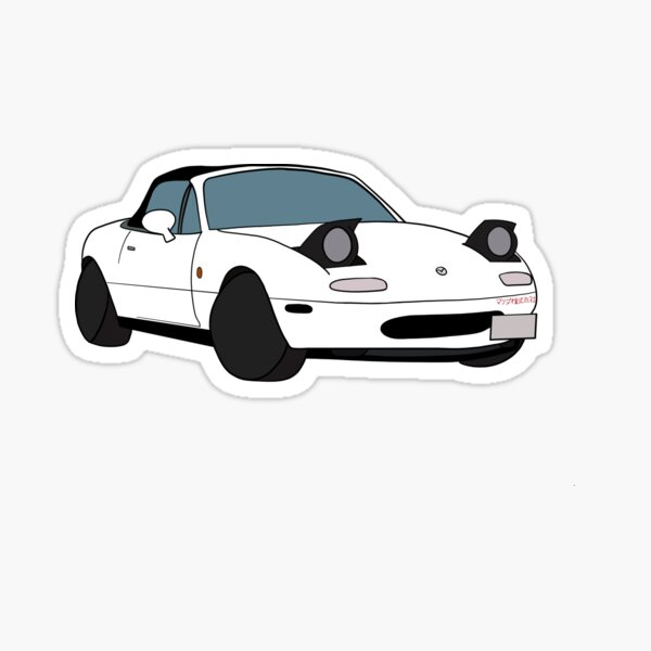 Mazda Miata mx5 1990 Sticker