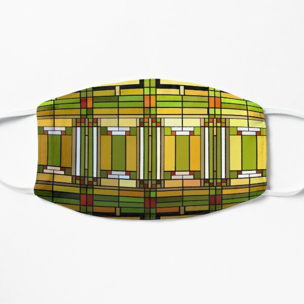 Frank Lloyd Wright Office Stained Glass Mask