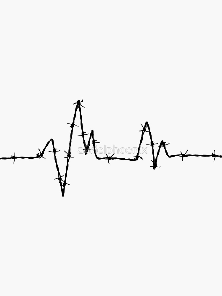 Barbed Wire Heartbeat - Medical Heavy Metal by aurielphoenix