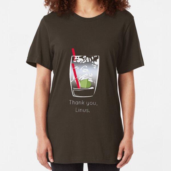 Thank you, Linus Slim Fit T-Shirt