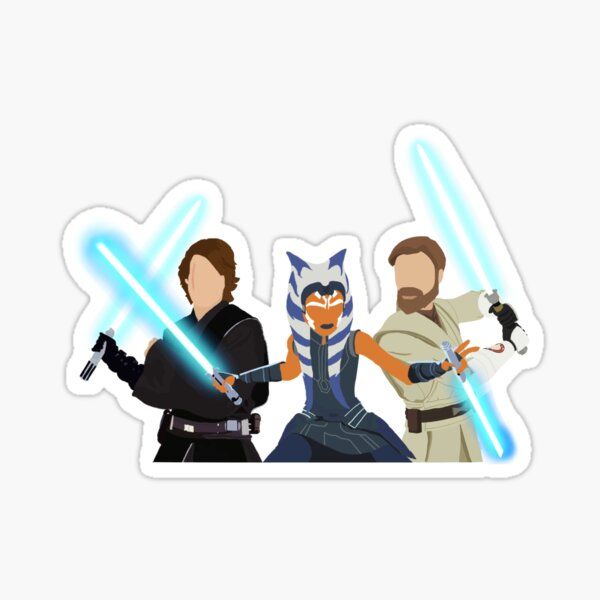 the trio Sticker