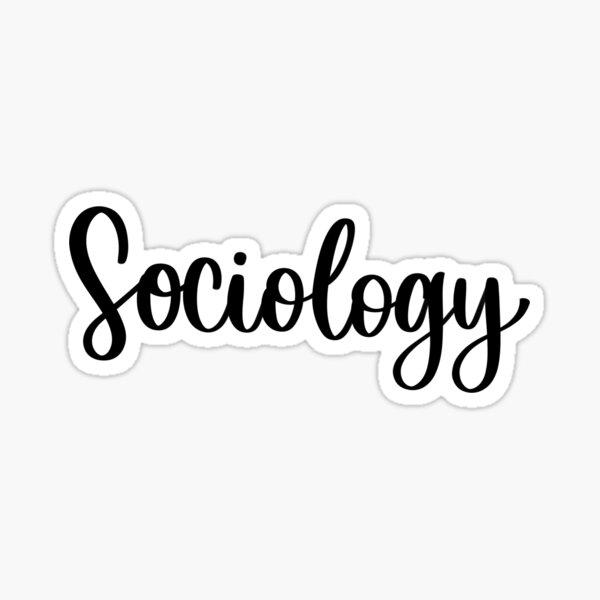 Sociology - Folder/Binder Sticker