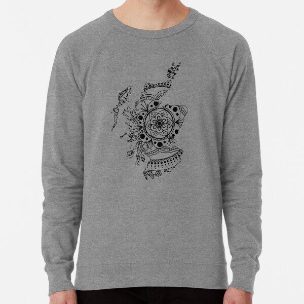 Scotland Mandala Lightweight Sweatshirt