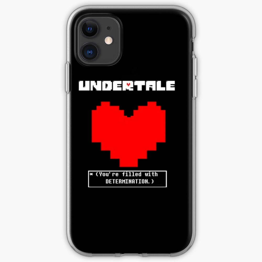 You Are Filled With Determination iphone case