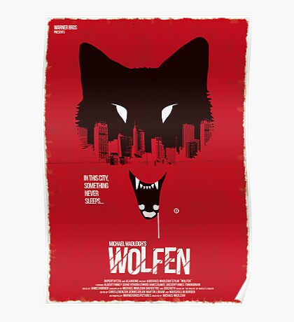Wolfen (Red Collection) Poster