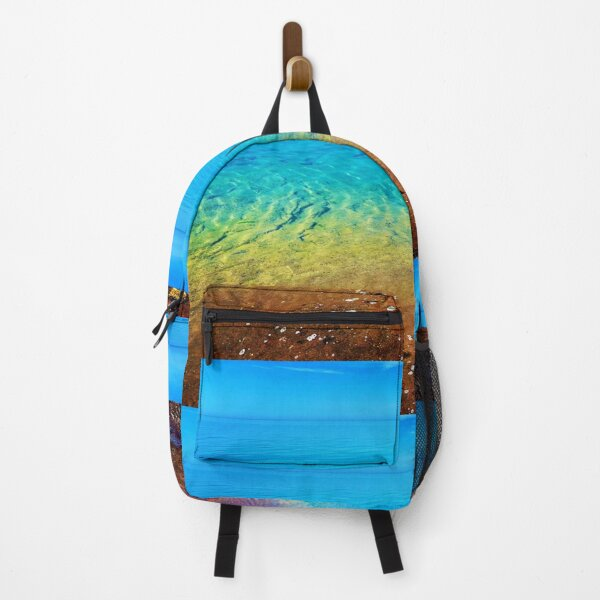 Still, Calm, and Colorful Lake Superior, Minnesota Backpack