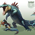 Feraligatr by RJ Palmer